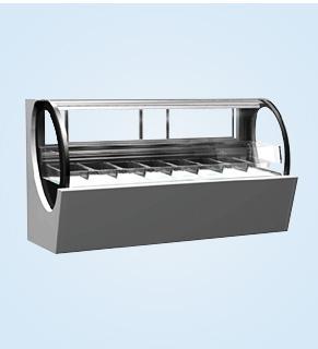 小鹅蛋冰淇淋展示柜