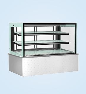 日式直角三层蛋糕展示柜