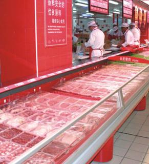 分体机鲜肉柜