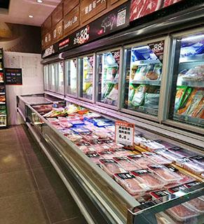 特殊定制鲜肉柜